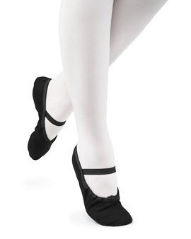 Baletki Młodzieżowe Cinderella Czarne