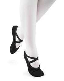 Baletki Damskie Cinderella Czarne