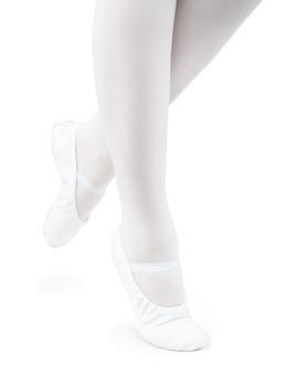 Baletki Młodzieżowe Cinderella Białe