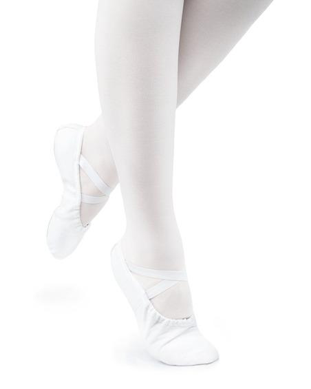 Baletki Damskie Cinderella Białe