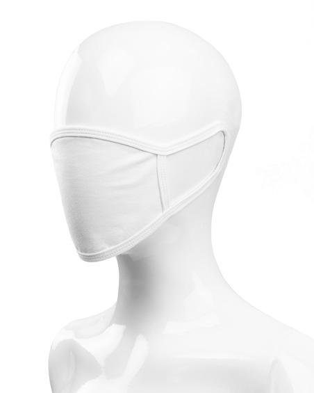 Maska Bawełniana Dziecięca Biała