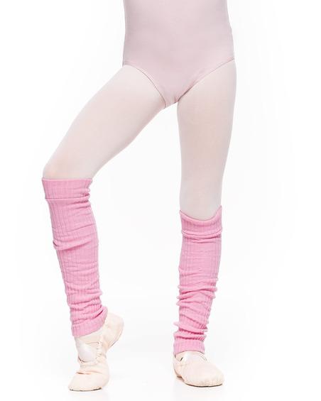 Getry Średnie Ocieplacze Dziecięce Baletowe Różowe