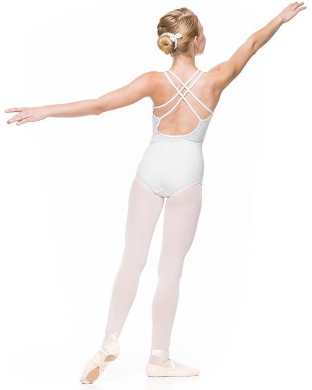 Body Młodzieżowe Julia Białe Taneczne