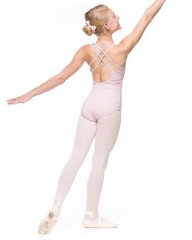 Body Młodzieżowe Julia Różowe Taneczne