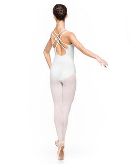 Body Damskie Julia Białe Taneczne