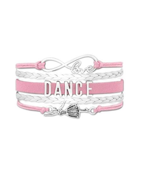 Bransoletka Dance Dla Małej Baletnicy Jasno Różowa