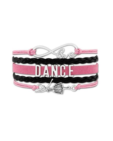 Bransoletka Dance Dla Małej Baletnicy Różowa
