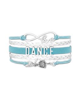 Bransoletka Dance Dla Małej Baletnicy Turkusowa