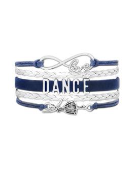 38) Bransoletka Dance Dla Małej Baletnicy Turkusowa / Bransoletka Dance Dla Małej Baletnicy Granatowa