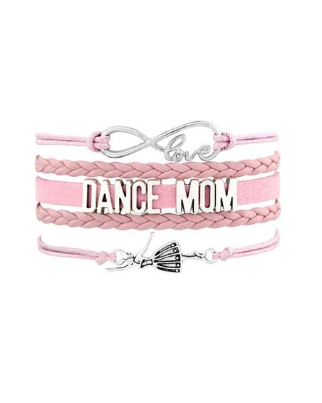 Bransoletka Dance Mom Dla Baletnicy Jasno Różowa
